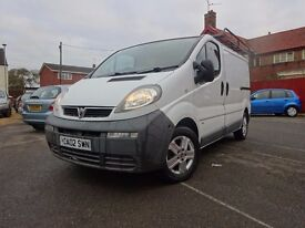 2002 Vauxhall Vivaro 1.9DTi 2.7t SWB - NEW BATTERY - AUG 2017 MOT - NEW ALTERNATOR