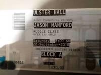 Jason Manford x 2 tickets
