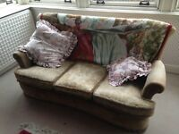 Free 3 seater sofa, perfect for recovering
