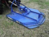 RHINO SE5 TOPPER MOWER 5' SEE VIDEO NO VAT 3 POINT LINKAGE STABLES PADDOCK FIELD GRASS CUTTER