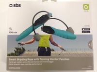 ( New and Sealed ) SBS Smart Wireless Skipping Rope - Blue £10
