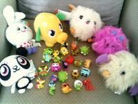 Moshi Monsters Bundle Figures And Soft Toys