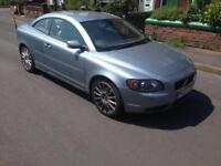 2007 07reg Volvo C70 2.4 D5 Automatic Convertible Silver Top Spec cheapest Newer Shape