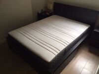 King Size, medium firm - Very comfy! Less than 12 months old! - IKEA HOVAG, Pocket sprung mattress