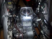 Aprilia rs 125 engine complete full power model 2008 new shape