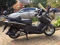 2010 SYM GTS125 EVO VERY CLEAN BIG TOURING SCOOTER MOT MARCH 2018 ONLY £950 AT KICKSTART BELFAST