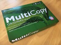 New Sealed Paper Package - Multicopy Original A4 - 80gm2 - 500 Sheets of White Paper
