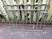 Metal Gates with Posts