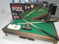 Kids pool table very good condition**reduced to clear**