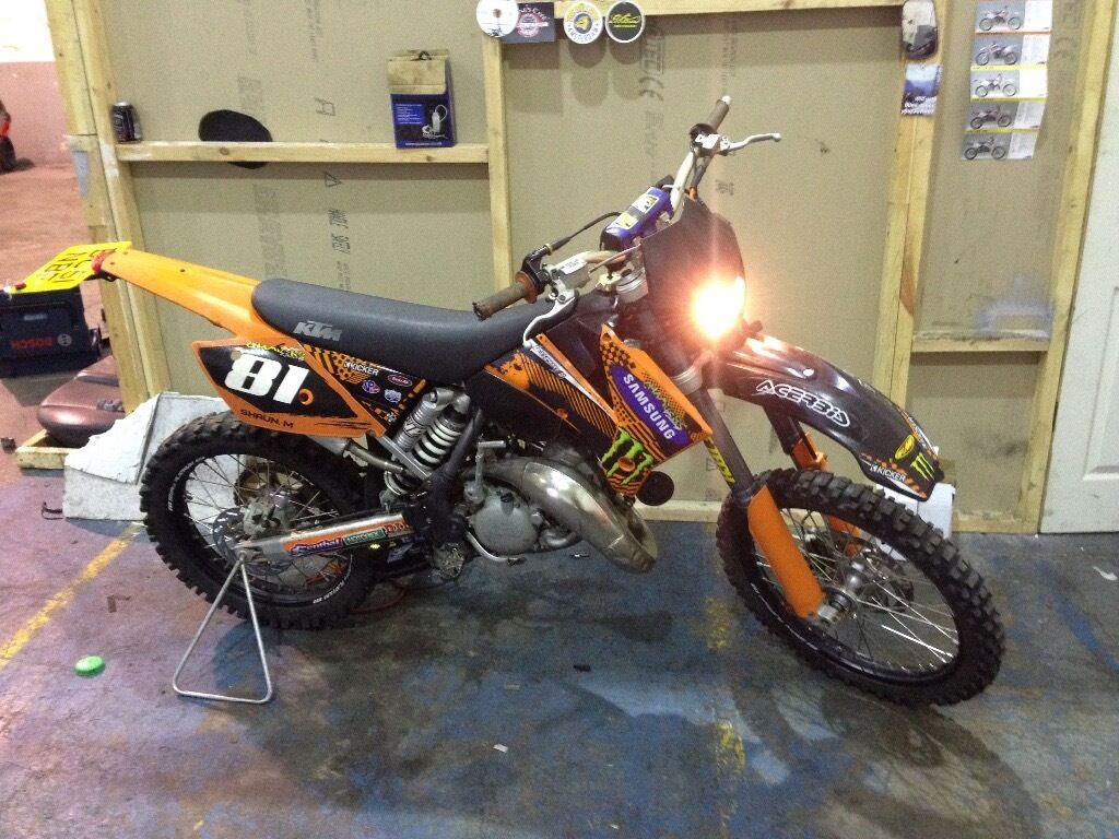 ktm sx 125cc roadlegal motocross bike enduro road. Black Bedroom Furniture Sets. Home Design Ideas