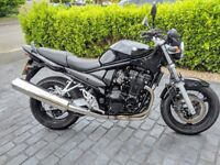 Black Suzuki Bandit GSF650N / 650cc / Low Mileage / 12 month MOT / Adj Brake & Clutch Lever