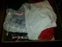 Bundle of girls clothes 7 to 11 years