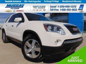 2012 GMC Acadia *Pr moon! *NAV! *19in wheels! *Very clean 1 owne
