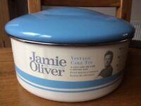 Jamie Oliver vintage cake tin NEW