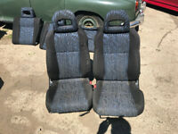 honda civic ek4 vti facelift front and rear seats ej9 96-00