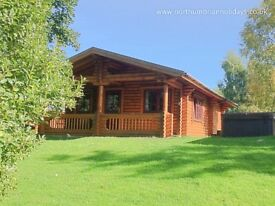 Fantastic Investment Opportunity - 2 Bedroom Luxury Log Cabins, Well Established Holiday Lets