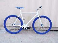Brand new single speed fixed gear fixie bike/ road bike/ bicycles + 1year warranty & service 9a