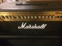 Marshall head amplifier