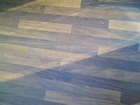 Kitchen worktop, Afze walnut butcher's block effect laminate