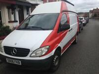 2006 06reg Mercedes Vito 2.1 Cdi Rare High Roof Perfect Runner