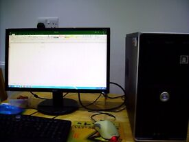 Desktop Computer AMD-X2240 (AMD Dual Core - 2.80GHz) Working System, Waterlooville £55 O.N.O