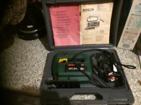 BOSCH PST 54E JIGSAW IN CASE GREAT ORDER .