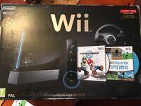 Mario Kart Wii Pack 25th anniversary edition. Black