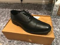 BRAND NEW !!! Redfoot London Oliver Black Oxford Shoe RRP £35.00-SIZE 9