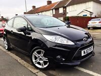 2012 FORD FIESTA 1.6 ZETEC S 3DR 118 BHP,29000 MILES ONLY,LADY OWNER,MOT,CHEAPEST IN THE MARKET.