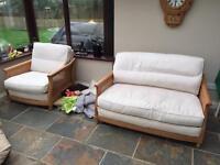 Ercol suite /sofa