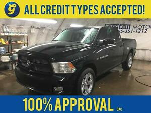2012 Ram 1500 SPORT*QUAD CAB*NAVIGATION*PARK ASSIST*POWER SUNROO