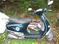 vespa et4 125 spares or repair