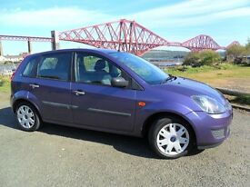2007 Ford Fiesta Style, Very Low Mileage, 1 years MOT, Great Starter Car, Cheap to Run and Insure...