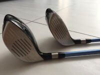 Ladies right handed Ping G5 3 and 5 Woods