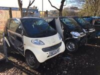 Smart Car Fortwo 450 & Roadster 452 Available COMPLETE or Breaking for Parts / Spares - engine parts