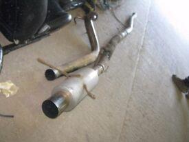 """Subaru Impreza WRX Sti Turbo 2000 93-01 3"""" S/S Exhaust System Turbo Back"""