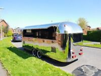New Airstream Catering Trailer Burger Van 5500x2000x2300 Ready For Collection