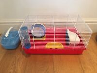 Ferplast Starter Hamster Cage with accessories