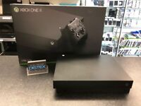 Xbox One X 4K Console Boxed 1 Pad