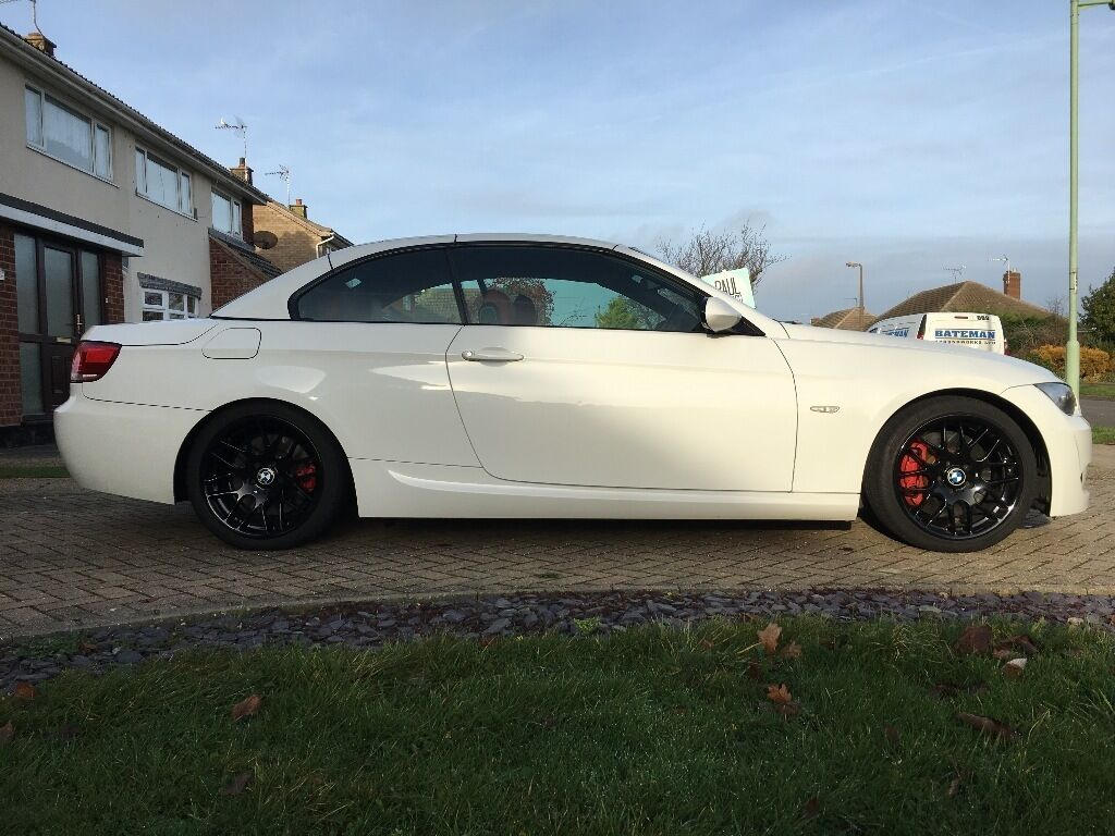 bmw 335i convertible white m sport in lowestoft suffolk gumtree. Black Bedroom Furniture Sets. Home Design Ideas