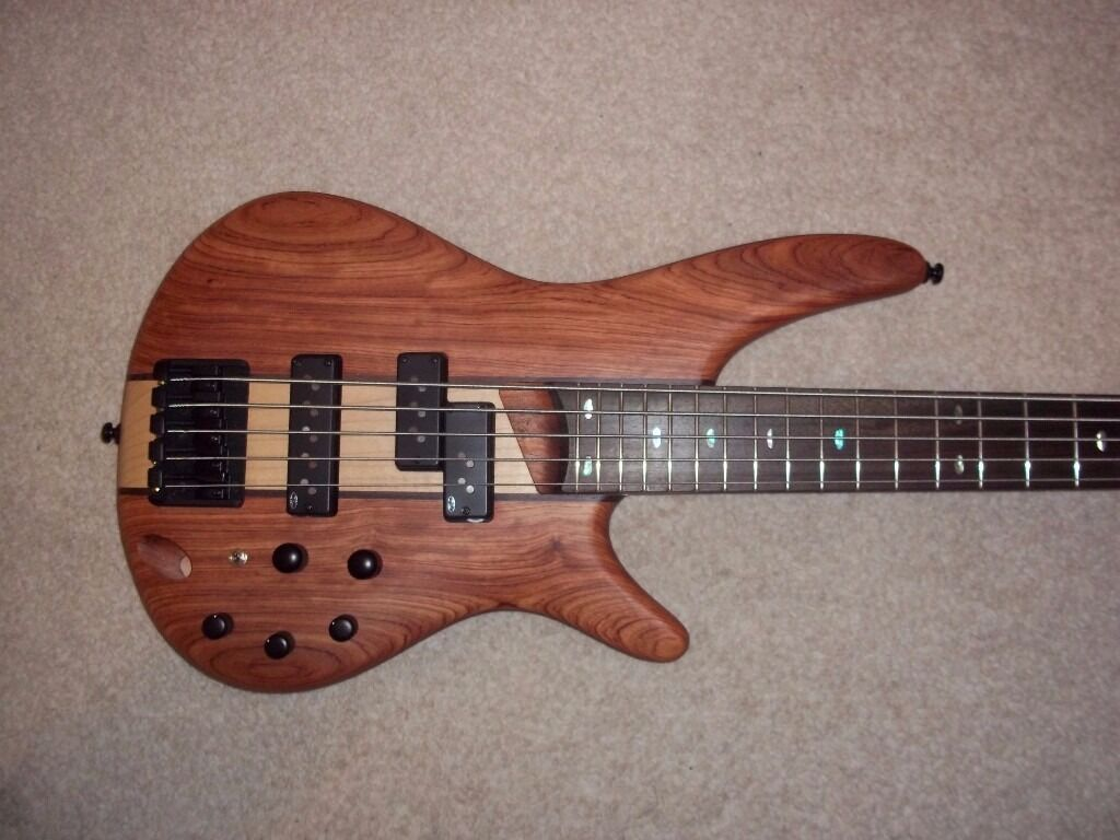 Ibanez Sr 755 Ntf 5 String Bass Guitar In Southampton Hampshire