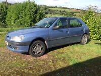 Peugeot 306 - WITH MOT