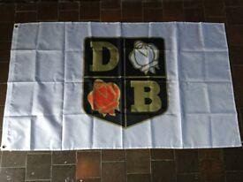 David brown tractors workshop flag banner