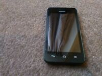 huawei smart phone ee network pay as you go with charger very good condition