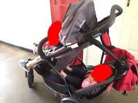 Phil & Teds tandem sport from newborn