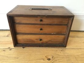 Vintage Engineers Drawers Toolbox Cabinet Large A4 size