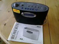ROBERTS 'ELISE' DAB RADIO - BATTERY OR MAINS CONNECTION