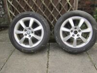 Jaguar/Ford 5 stud Alloy Wheels