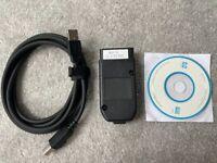 VCDS VAG COM 21.3 HEX V2 USB diagnostic cable OBD2 scanner ATMEGA162+16V8+FT232RQ VW AUDI Skoda Seat