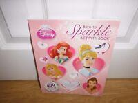 Disney Princess Born To Sparkle Activity Over 400 Glittering Stickers Book